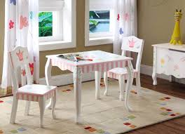 wooden table and chairs for kids cute wood table and chairs in classic style for little girls flower patterned white lace window wooden table and chairs