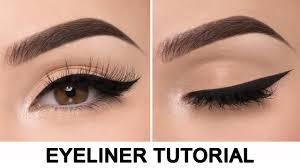 tutorial membuat cat eyes eyeliner untuk semua jenis mata