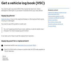 Vehicle Log Book Format V5c The Ultimate Guide To Your V5 Log Book 2019 Update