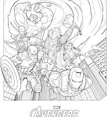 Avengers Coloring Pages Color Marvel Tutorial Best Falcon Free