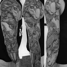 50 Vlk V Ovčích Oděvech Tetovací Vzory Pro Muže Mužské Nápady