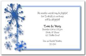 holiday invitations blue snowflakes invitation snowflakes holiday invitation christmas
