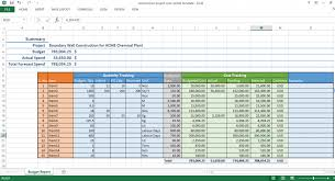 Excel Template For Project Tracking Construction Project Tracking Template Excel Management