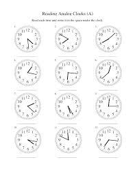 Time Worksheet For Kids Kids Digital Time Worksheets Free Analog ...