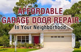 garage door repair companyNeighborhood Garage Door Service Company