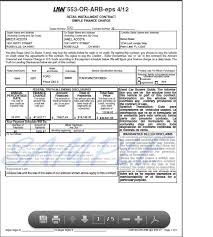 Used Car Sales Agreement Form - Fast.lunchrock.co