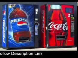 Pepsi Vs Coke Vending Machine Commercial Interesting Cock V Pepsi Coke Vs Pepsi Drinks Pepsi Vs Coke Taste YouTube