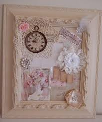 mixed media and flowers 001 on country chic wall art with handmade shabby chic frame collage cottage chic mixed media wall art