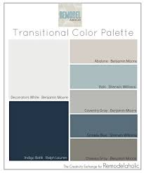 Sherwin Williams Color Palette Remodelaholic Transitional Paint Color Palette