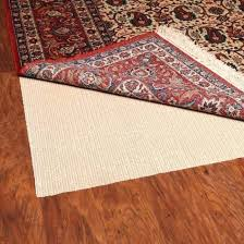 how to keep rugs from slipping on laminate floors non slip rug pad cut to size