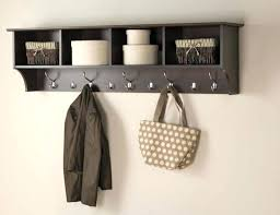 Wall Mounted Coat Rack Shelf Simple Wall Mount Coat Rack Wall Mounted Coat Rack With Shelf And Mirror