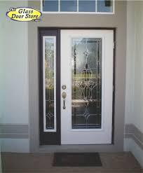 front door windowWant glass door inserts installed in your front door