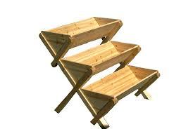 h wood raised garden bed