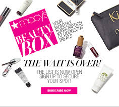 macy s beauty box april 2018 full spoilers