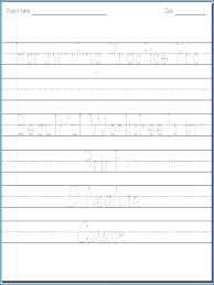 Handwriting Improvement Worksheets Improve Adults Practice For ...