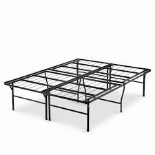 Priage by Zinus 18 inch High Profile SmartBase Black Platform Bed Frame, Full