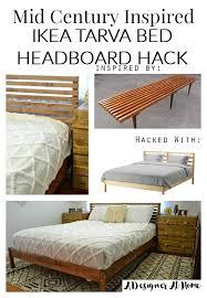 diy ikea tarva. How I Made It: Mid Century Inspired IKEA Tarva Bed Hack - A Designer At Home Diy Ikea
