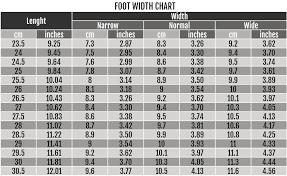 36 Faithful Womens Boot Width Size Chart