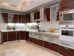 Modern Style Kitchen Cabinets Modern Style Kitchens With Black Marble Flooring Tile Also White
