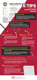 Grad School Resume Tips How To Write A Winning Graduate School Resume