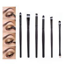 eyebrow brushes kit. bittb 6ps eye makeup brushes set kit tools eyeshadow eyebrow eyeliner blending brush sponge cosmetic shadow set-in \u0026 e