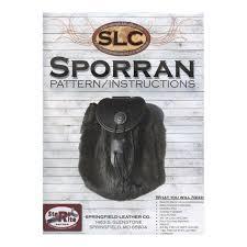 springfield leather co sporran purse pattern