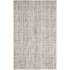 safavieh abstract 8 x 10 handmade rug in camel and black