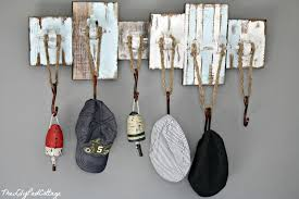 Diy nautical hat rack