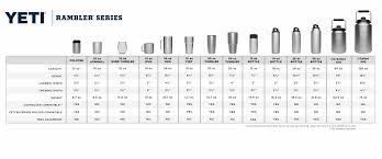 Vessel Size Chart Triple Flip Size Chart 2019
