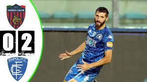 COSENZA VS EMPOLI 0-2 GOALS & HIGHLIGHTS | SERIE B ITALY 2020/2021 RESUME -  YouTube