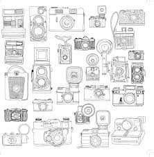 Small Picture Best 20 Camera outline ideas on Pinterest Vintage camera