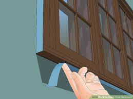 painting window sills exterior unique how to paint your bedroom with wikihow