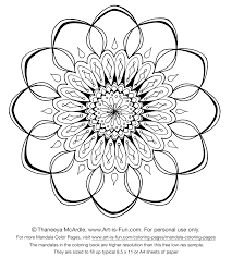 free mandala coloring pages for adults printables.  Printables Intricate Flower With Free Mandala Coloring Pages For Adults Printables E