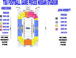 Rocketown Nashville Seating Chart Seating Maps Official Site Of Tennessee State Athletics