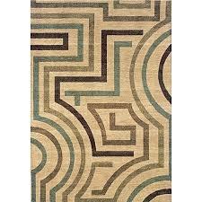 brandt beige area rug 9x12 tan contemporary x 7 rugs