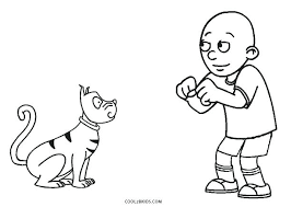 Caillou Pictures To Color Coloring Pages Coloring Pages Sprout Color