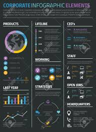 Resume Background Image Infographic Business And Personal Resume Cv On Black Background 1