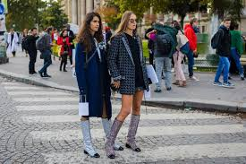 chanel glitter boots. how to wear the most playful fall boot trend and still look sophisticated chanel glitter boots
