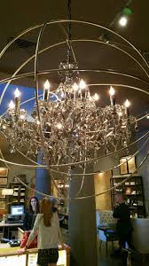 orb crystal rococo chandelier a home for elegance my spectacular visit to restoration hardware ideas 37