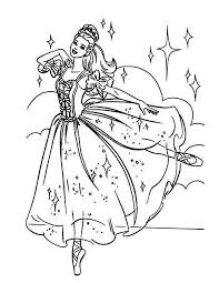 Small Picture Beautiful Barbie Ballerina Coloring Page Color Luna