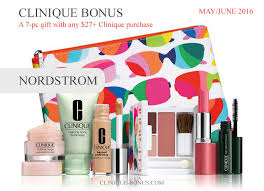 clinique bonus nordstrom 2016 step up gift