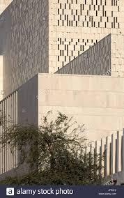 Forum Design Qatar Detail Of Exterior Stone Facade The Cultural Forum Doha