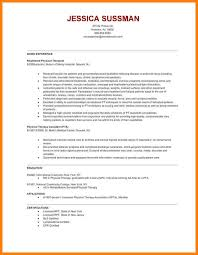 9+ physical therapy resume samples