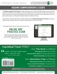 gre reading comprehension essays book by manhattan prep   gre reading comprehension essays 9781937707880 hr back