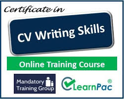 Cv Writing Online Cv Writing Skills Course Online Training Course