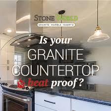 heat proof granite counter