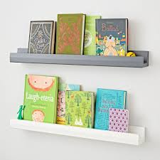 drawer wall books kids shelves wall cubbies the land of nod