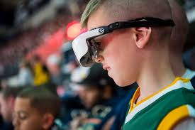 joe ingles helped give landon carter the gift of sight on thursday the boy