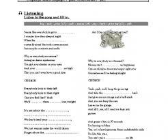 song worksheet price tag by jessie j money