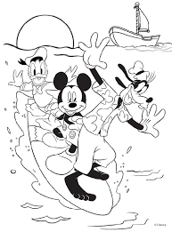 Printable minnie mouse coloring pages for kids. Disney Mickey Mouse And Friends Coloring Page Crayola Com